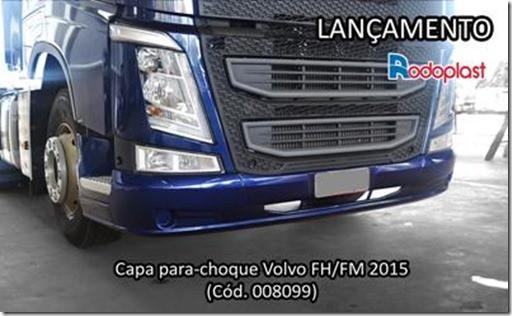 Parachoque Rodoplast Volvo lancamento